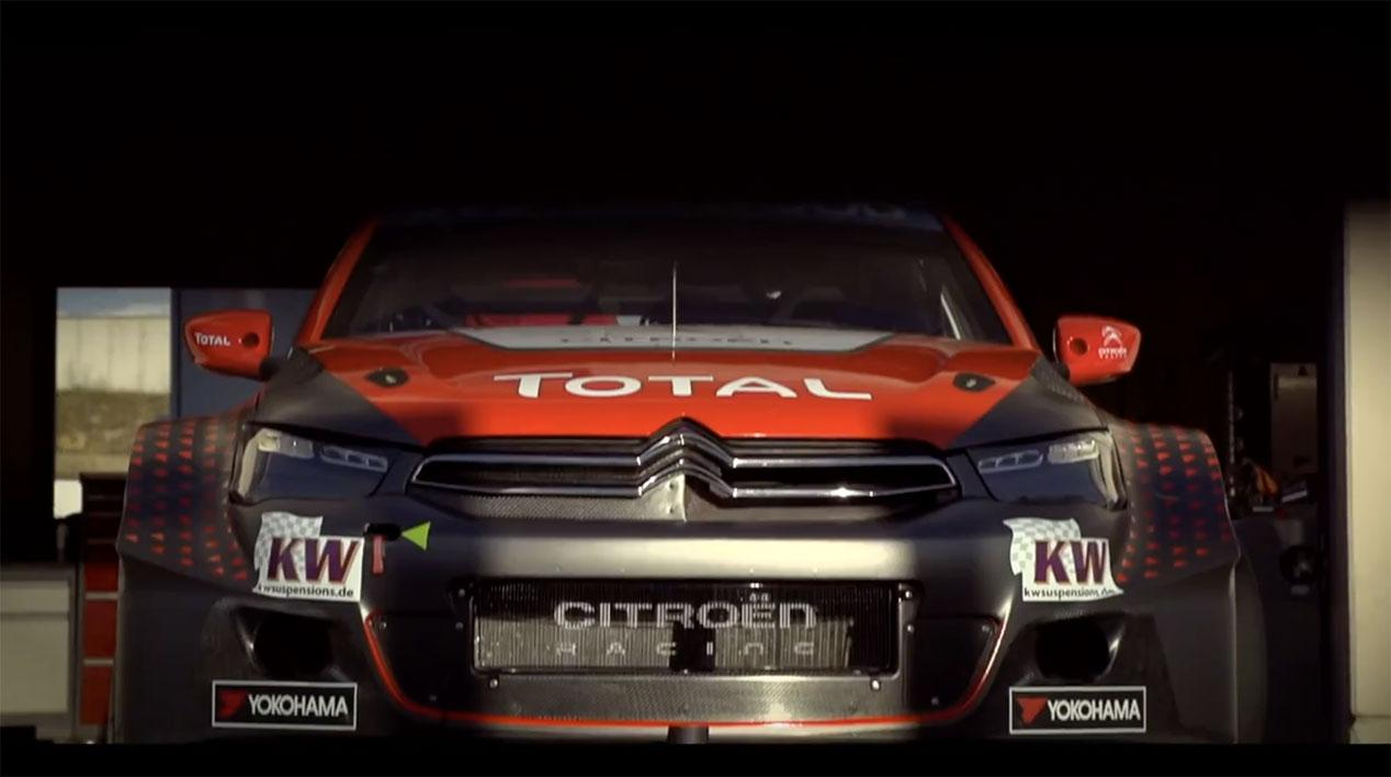 the-new-citroen-c-elysee-wtcc-on-track-at-vallelunga